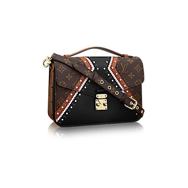 LOUIS VUITTON Pochette Métis MM ($1,035) ❤ liked on Polyvore featuring jewelry, louis vuitton jewelry and louis vuitton