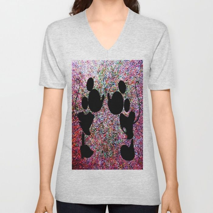 Imagination V-neck T-shirt And many more Cute Products @society6.com/azima...  http://bit.ly/1RWw3bn   #mickeymouse #mickey #mini #homedecor #decoration #different #woman #kids  #art #artprint #kidsroom #love #shopping #quality #cartoons #bags #duvet #pillow #rectagular