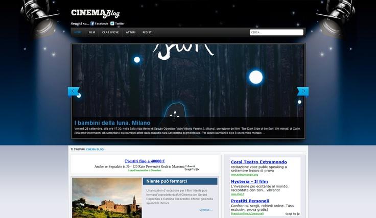 Il Blog per tutti gli appassionati di cinema del network Fair Magazine!     www.cinemablog.it