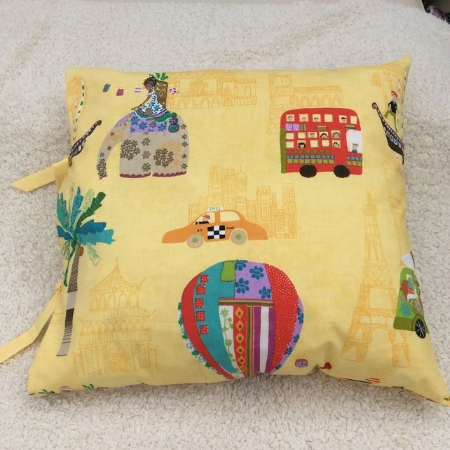"Children's Floor Cushion 24"" x 24"" (cover only) £17.50"