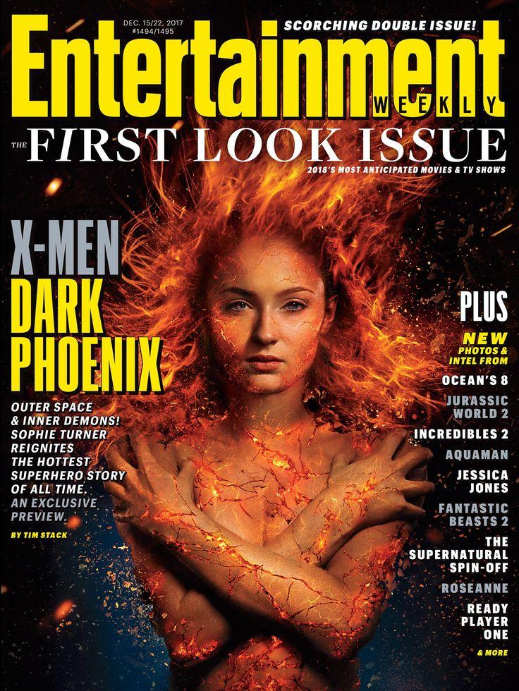 Entertainment Weekly First Look at X-Men: Dark Phoenix. #sophieturner #darkphoenix