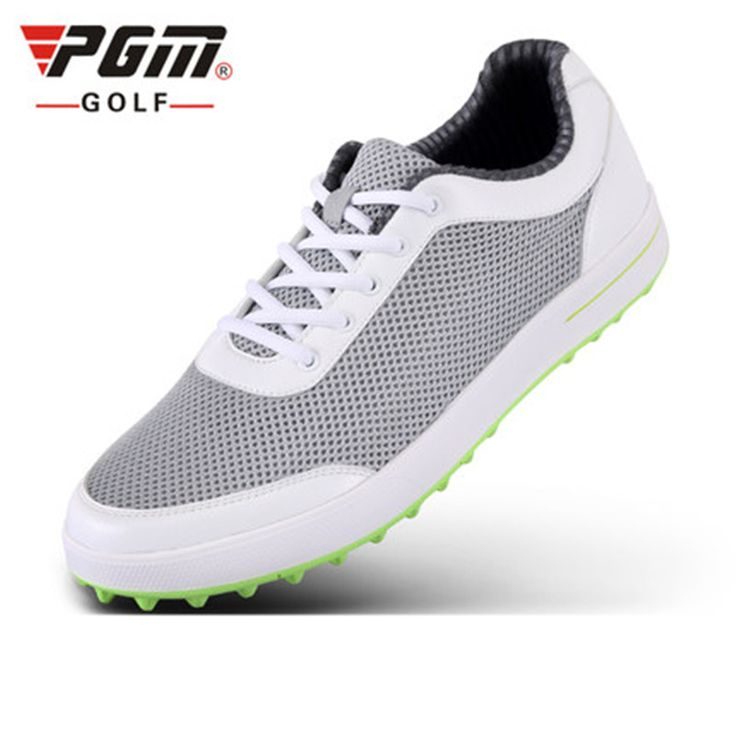 2017 summer PGM men's golf shoes ultra-light breathable mesh cloth Golf Sneakers 3D color printing cloth driving range dedicated