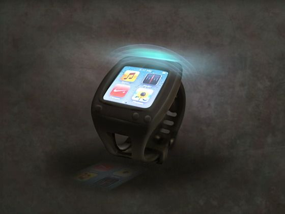 SYRE, Bluetooth iPod Nano Watch Case by Anyé Spivey, via Kickstarter.