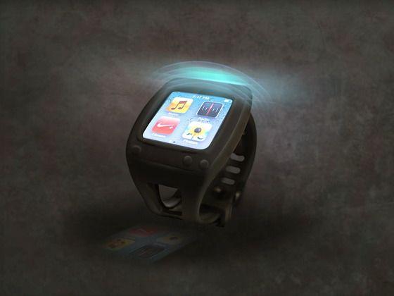 SYRE, Bluetooth iPod Nano Watch Case by Anyé Spivey, via Kickstarter.