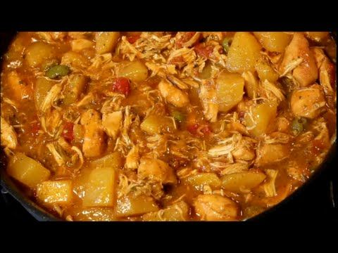 How to Make Puerto Rican Stewed Chicken Recipe (Pollo Guisado) - YouTube