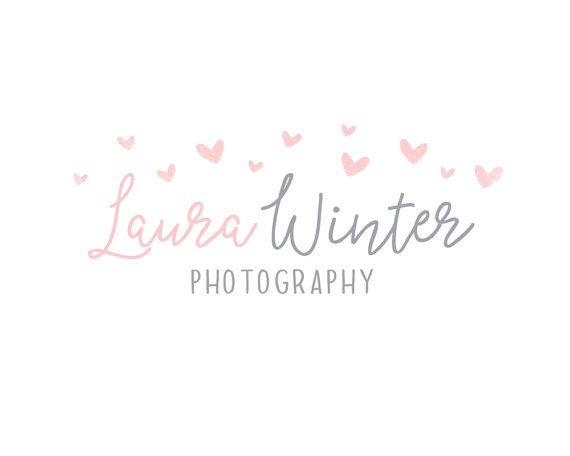 Premade Wedding Photography Logo By CoffeeandInkDesign
