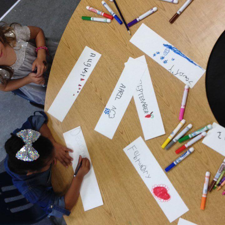 Co-creating calendar kindergarten Mrs M Dattilo