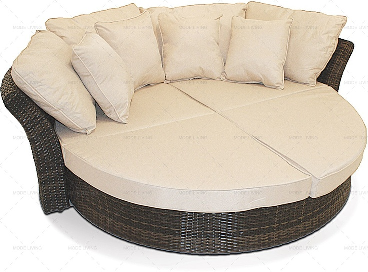 Bali Rattan Garden Round Daybed Http Modeliving Co Uk
