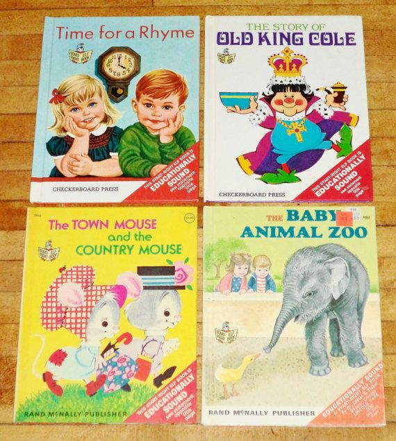 4 Large Start Right Elf Books 10 x7 inch HCs Old King Cole