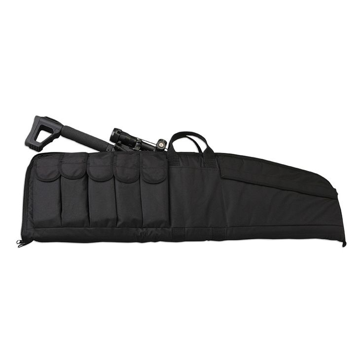 Uncle Mikes Tactical Gun Case-Large Size 41 x 10 internally Five