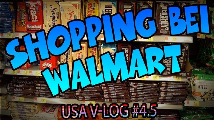 Shopping bei Walmart USA Food Haul | V-Log #4.5