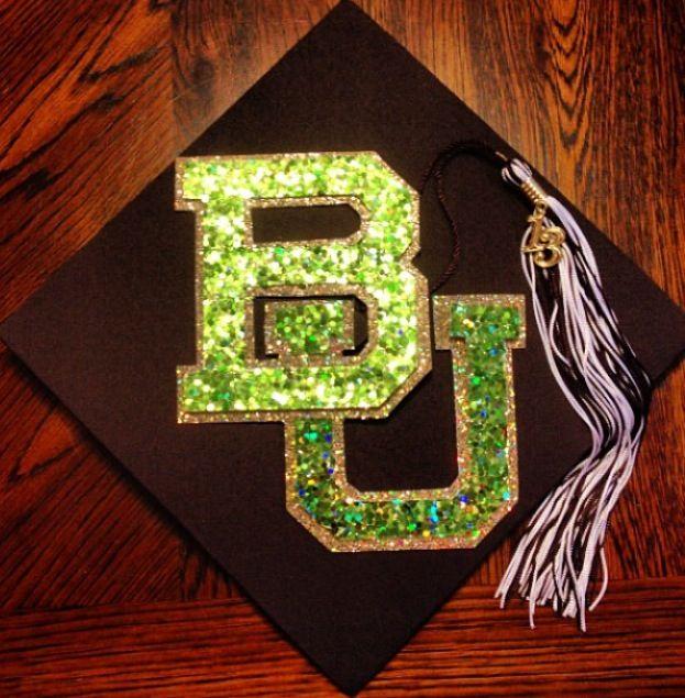 My #Baylor graduation cap! #BaylorGrad14: Cap Ideas, Graduation Party, Graduation Caps, Grad Farewell Party, Baylor Stuff, Sic In Bears, Baylor Bears, Baylor Graduation Cap