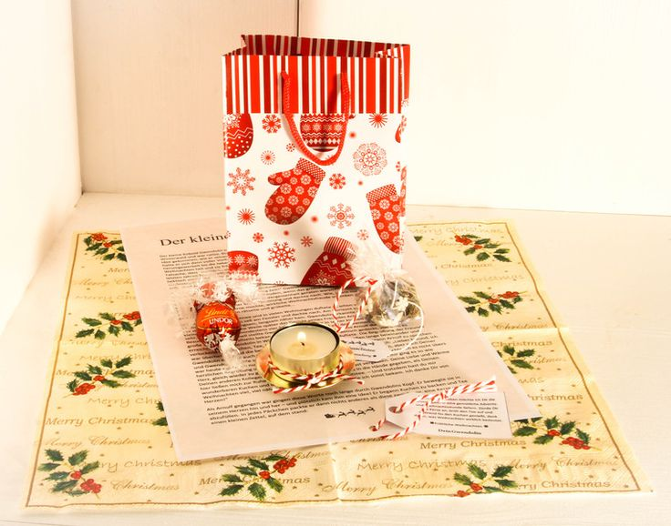 15 Minuten Weihnachten Auszeit mit Lindt Pralinen von Thürmchens Lädchen auf DaWanda.com
