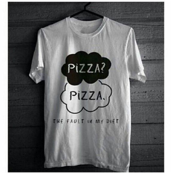 Pizza t-shirt.