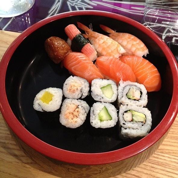 Sushi Platter at Itamae Sushi in Helsinki