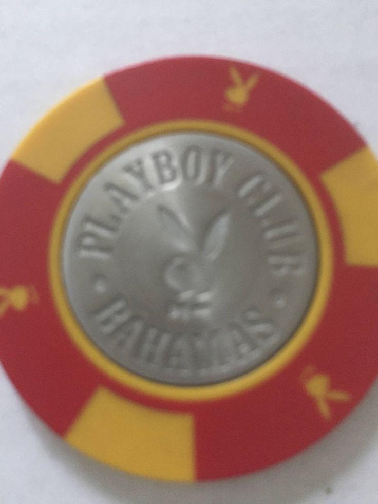 Vintage Playboy Poker Chip, Hugh Hefner, Playboy Bahamas, Vintage Poker, Playboy Club, Playboy Collectable by ChezShirlianne on Etsy