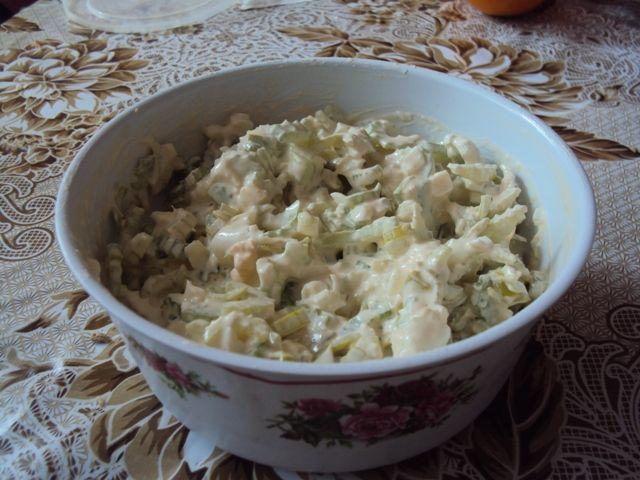 Salat zo stonkoveho zeleru