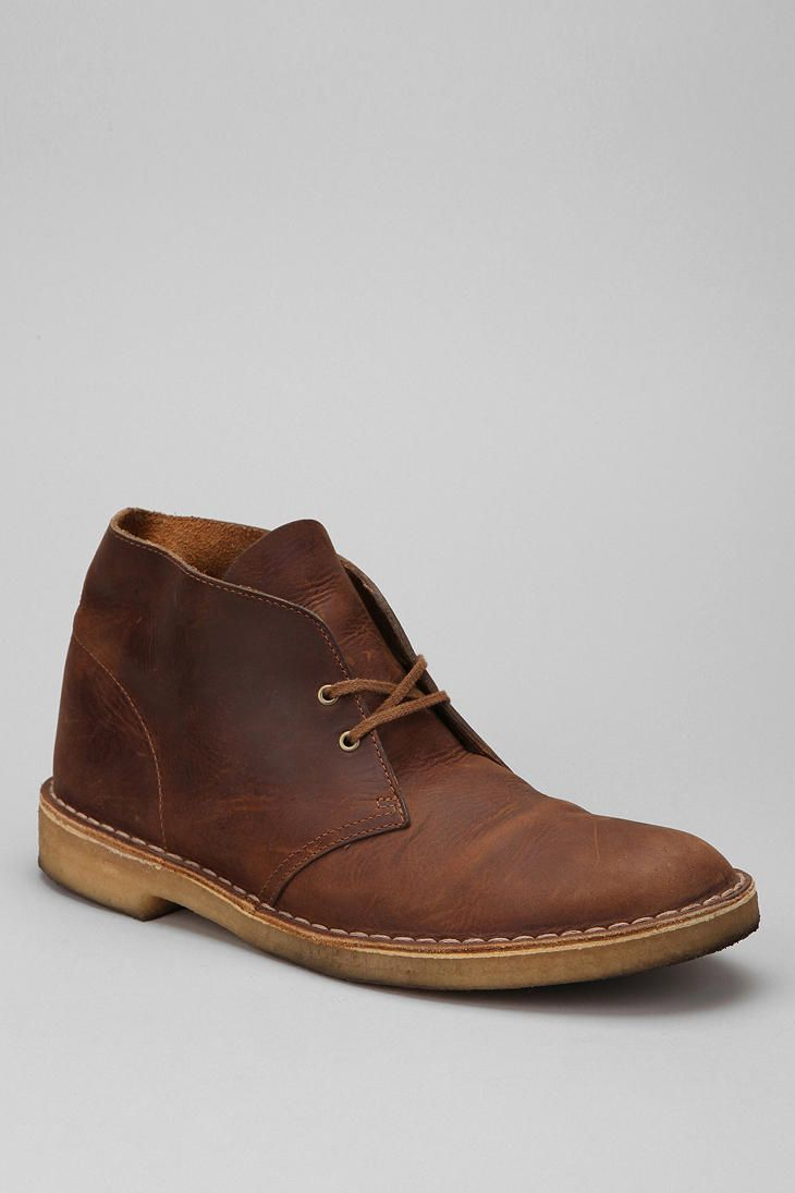 Clarks Desert Beeswax Boot, an iconic design inspired by boots worn by the Eighth British Army.