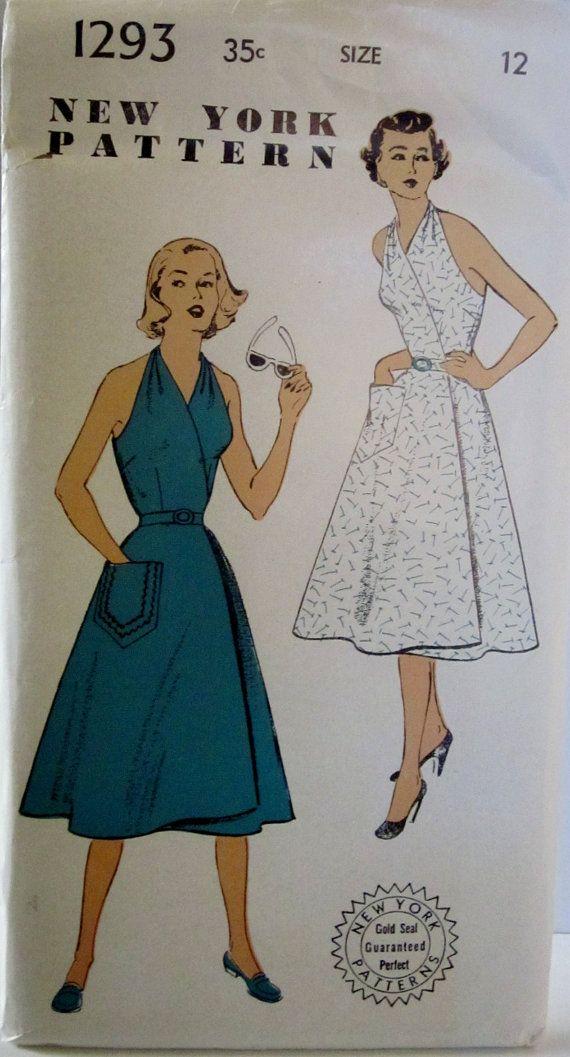 New York 1293 Womens Wrap Around Halter Sun Dress by Denisecraft, $39.99