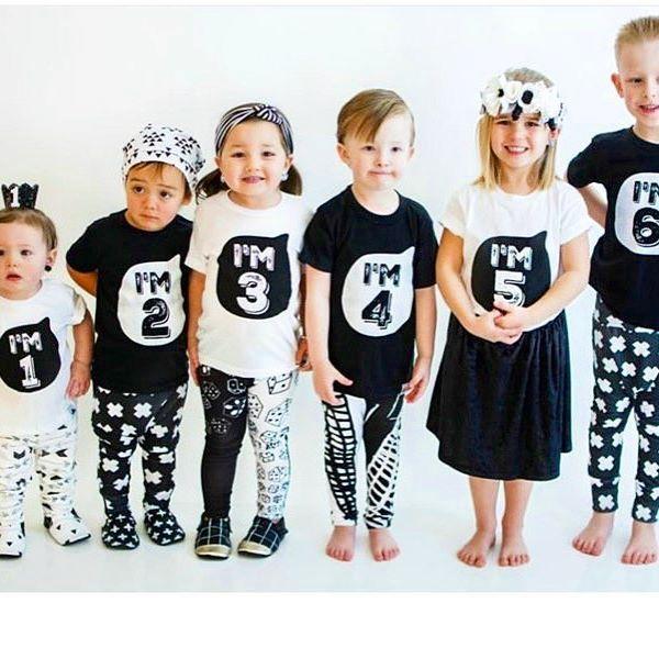 【先行ご予約SALE☁︎ 】2017年新作 Number Tシャツ1〜5歳  .  シンプルなシルエットのNumberシャツ。胸元に『I'm 1』とそれぞれのロゴが入っています。お誕生日や特別な日の写真撮影だけでなく、普段使いにも大活躍頂けるitemです☁︎  .  【SALE】6,890円→2,980円 (込)✨◟́◞̀ ♡  .  送料は1回の発送につき何枚でも500円。5,000円以上で送料無料となります。  .  先行ご予約SALEのためお届けまで2-3週間前後ちょうだい致します。  .    ご購入はwebサイトから。プロフィール欄にリンクがございます。🔗  .  #北欧のコドモ服#3歳#2歳#雑誌como #プリスクール#北欧#キッズファッション#雑誌掲載 #ヤマハ音楽教室#離乳食#古着コーデ #雑誌very #リンクコーデ#ファーストバースデー #ヤマハ音楽教室シンプルコーデ#新築マイホーム#リトミック教室 #同級生ベビー #リンクコーデ#三姉妹 #バースデー衣装#おしゃれきっず