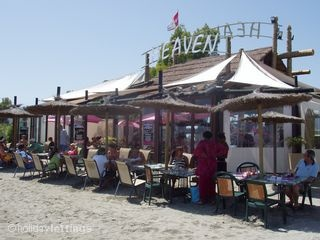 Heaven Beach Bar, lovely for an afternoon drink! Food is good too