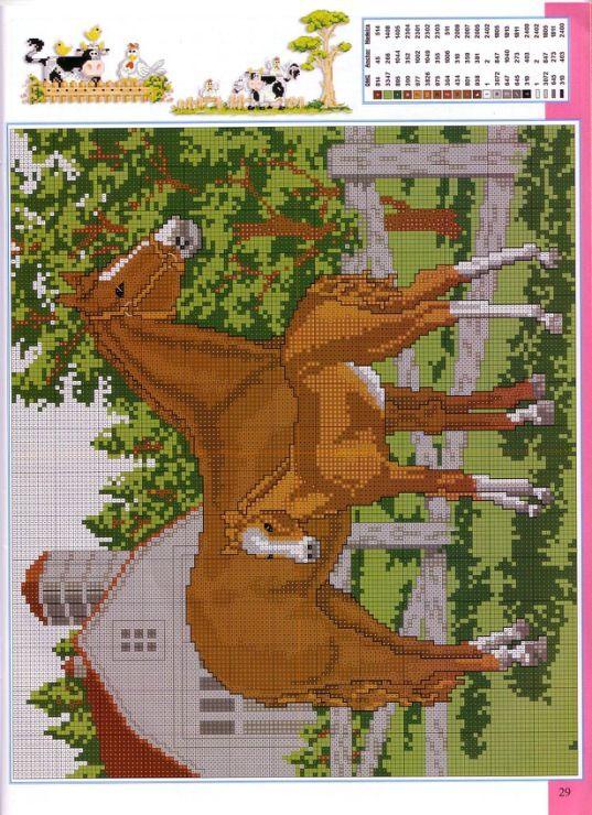 Gallery.ru / Фото #51 - Disenos de animales en punto de cruz - anfisa1