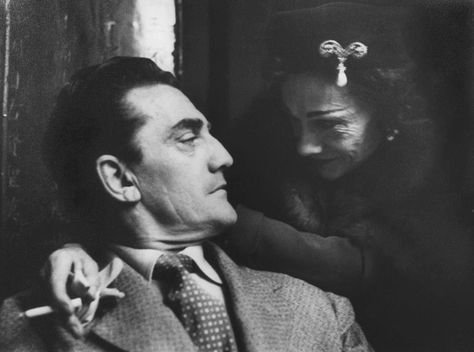 Luchino Visconti and Coco Chanel