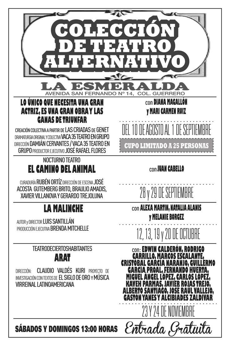 Colección de Teatro Alternativo