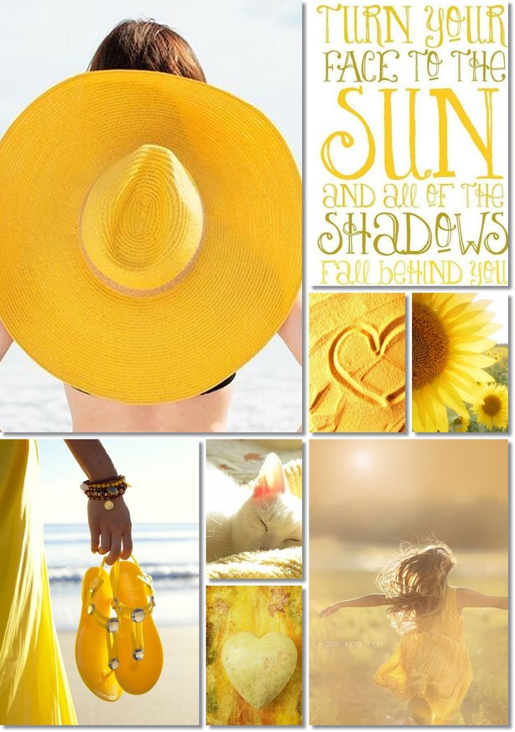 SUMMER MOODBOARD  TURN YOUR FACE TO THE SUN AND ALL OF