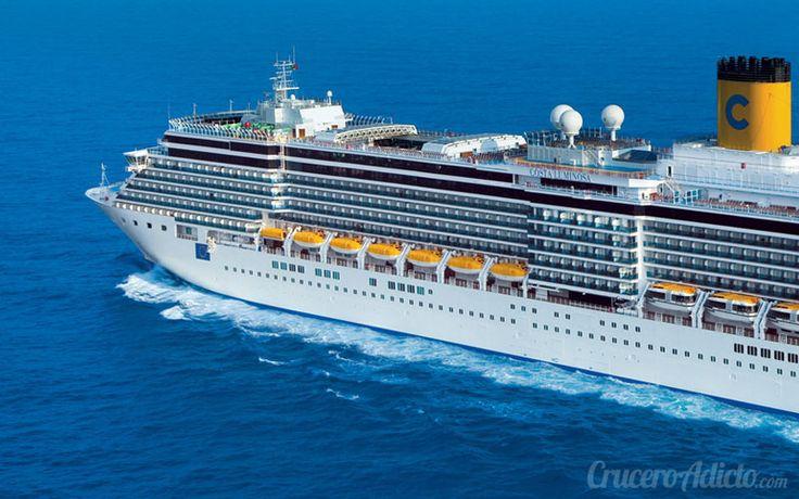 Comienza la vuelta  al mundo en crucero del Costa Luminosa desde el puerto de Venecia. Estos son algunas curiosidades del viaje soñado por todos los cruceristas