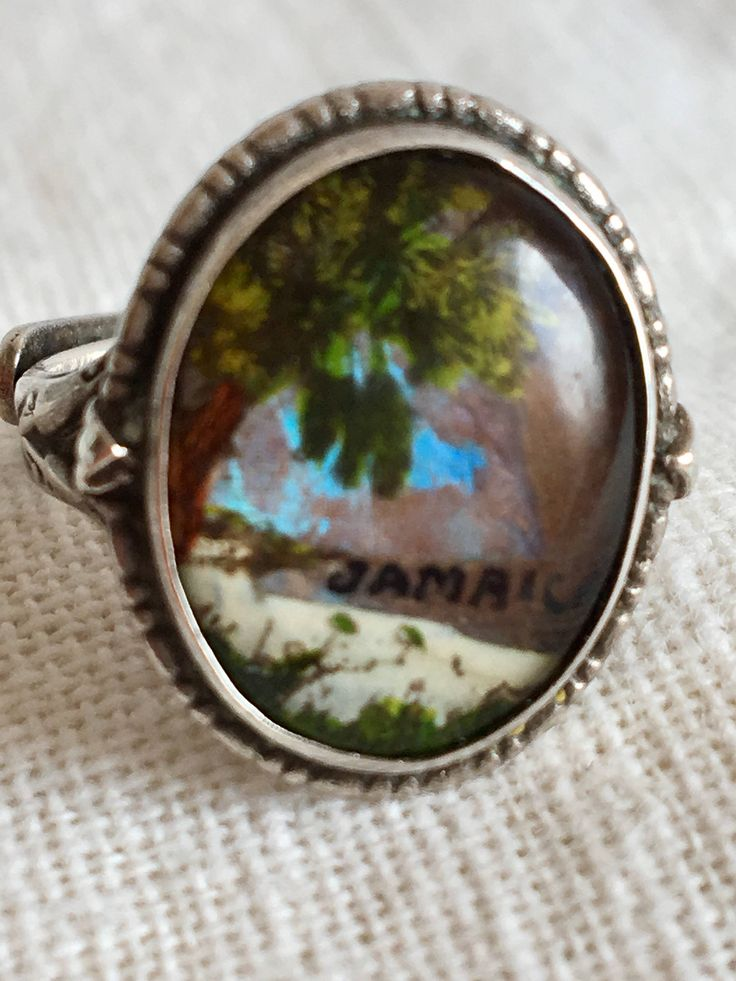 A personal favorite from my Etsy shop https://www.etsy.com/ca/listing/519707710/vintage-silver-jamaica-ring