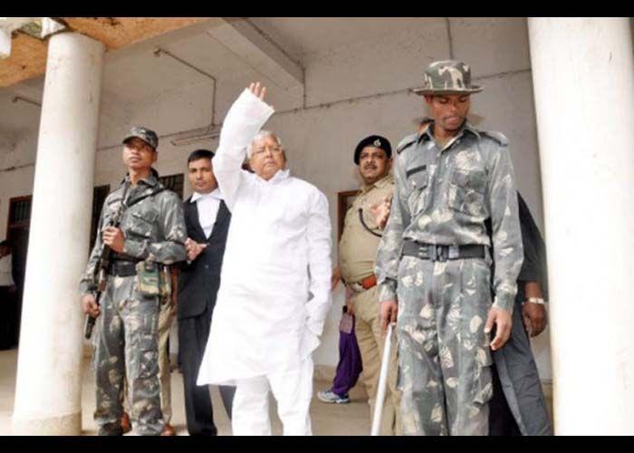 RJD President Lalu Prasad Yadav arrested