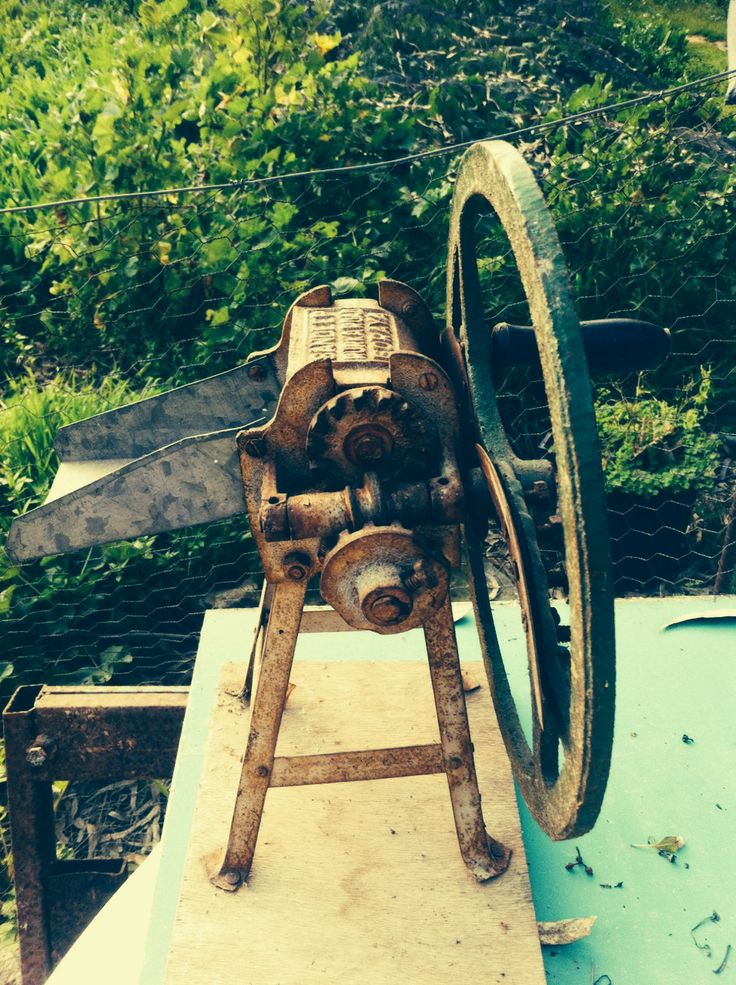 Interesting #machine I found in the garden