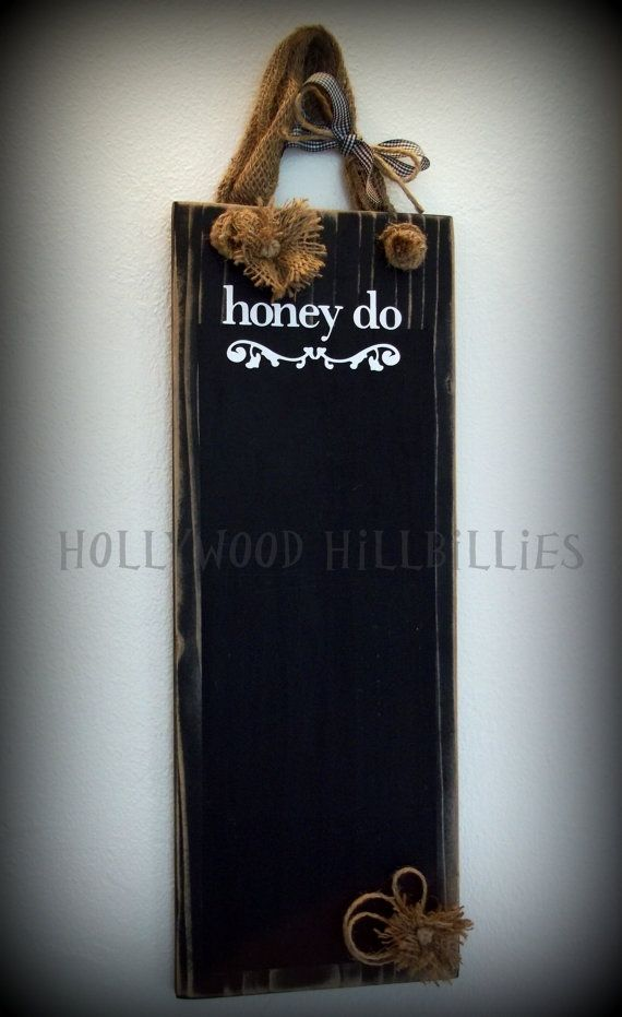 Rustic Shabby Chic Wall Decor by HollywoodHillbillies on Etsy, $15.00