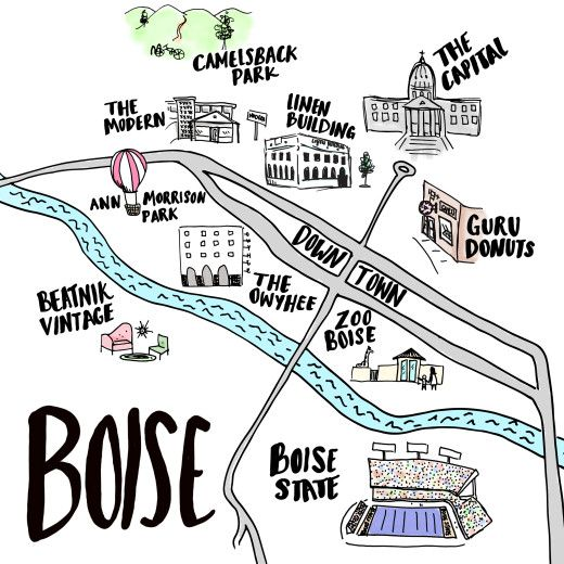 Simply Grove created a list of the best of Boise Idaho. This includes restaurants, furniture shopping and more.