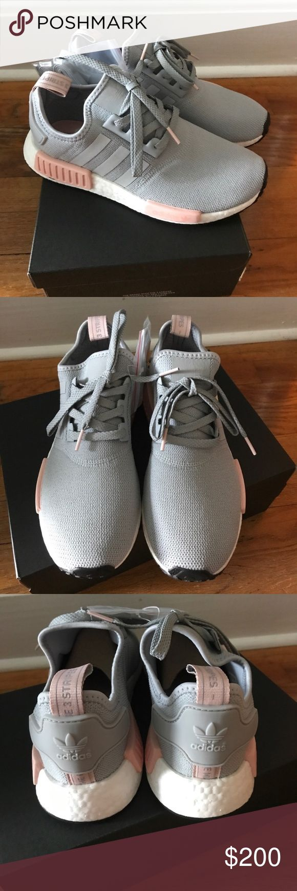 Adidas NMD R1 Brand new with box. Authentic Adidas NMD R1 in gray. Never worn. No Trades. Price is firm. Adidas Shoes Athletic Shoes