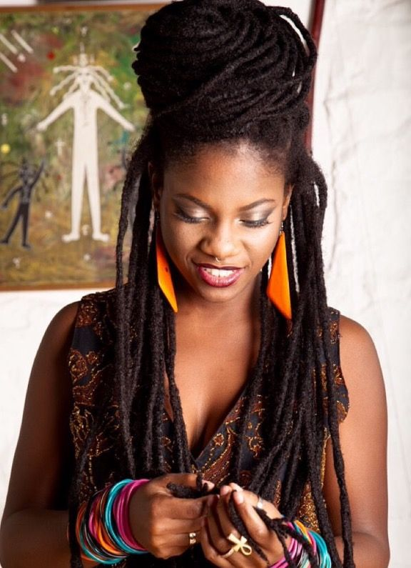 black hair locs styling 1000 ideas about thick hair hairstyles on 2676