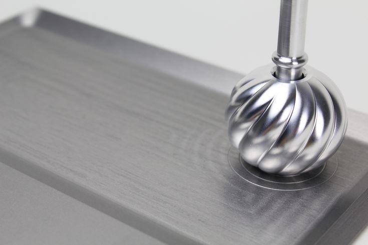 PARIS DESIGN WEEK 2013  Exhibit work / pen stand #Technology #aluminum パリのPARIS DESIGN WEEK 2013の 出展作品の1つ。ボールペンスタンドです。