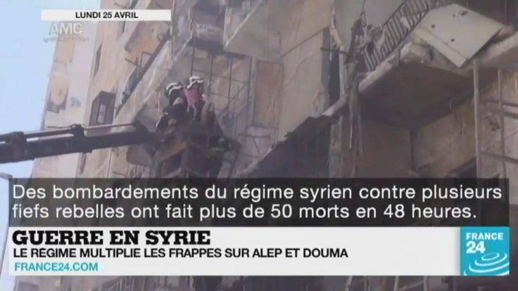 Guerre en #Syrie, hospitalisation de #Bouteflika, anniversaire de la fin du parti unique en #RDCongo et #Primaires US... Le point sur l'actualité en VIDÉO