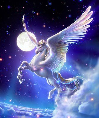 Mundos, Humanos y Sociedades.: Pegaso el caballo del Dios Zeus según la mitología...