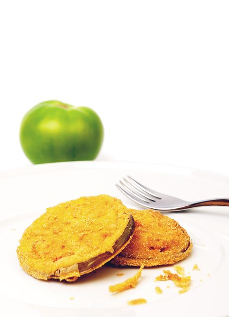 #Pomodori verdi #fritti #ricetta #vegetariano #food