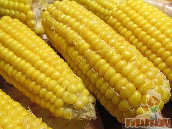 Вареная кукуруза на пару в мультиварке