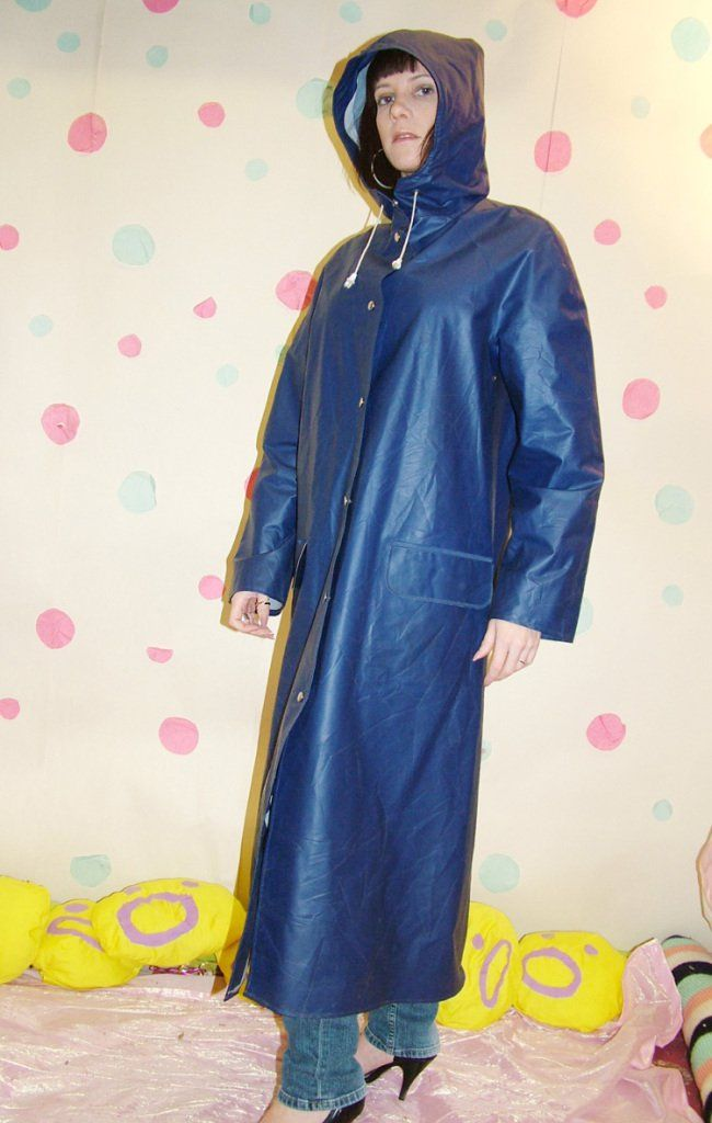 Blue Pvc Raincoat Rainwear Pinterest Pvc Raincoat