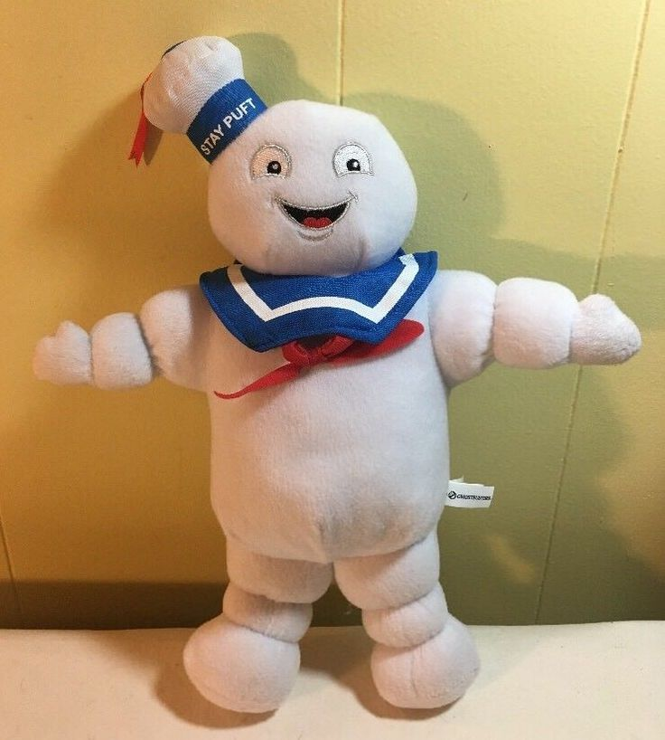 "Ghostbusters Toy Factory Stay Puft Marshmallow Man Plush Toy 14"" Tall 2016 #ToyFactory"