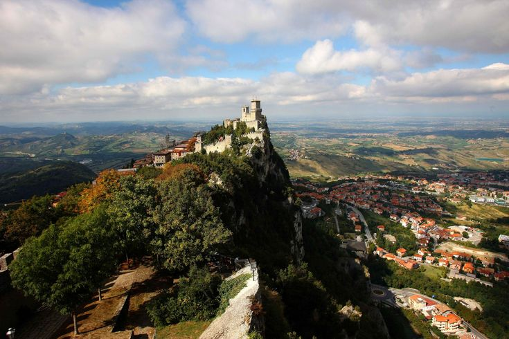 Hovering on a cliff encircled by Italy, the tiny landlocked country of San Marino holds the title of the least visited country in Europe, just a dot on the map of only 23.6 square miles.