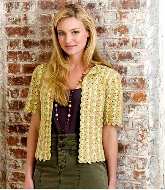 Mejores 417 imágenes de Crochet en Pinterest | Abrigo de ganchillo ...