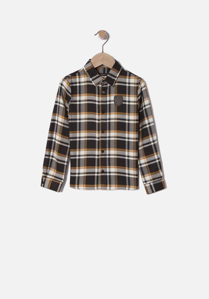 Camisa cuadros niño | Otoño / Invierno IKKS | Niño