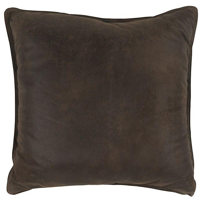 Havane Coussin de sol effet cuir 60x60cm 23 euros