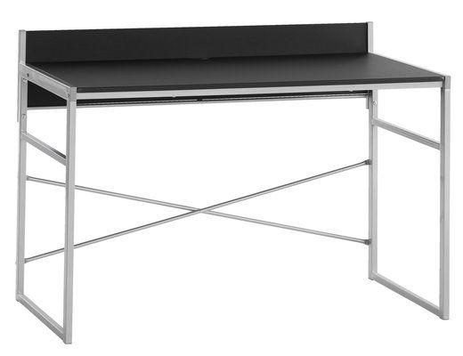 Työpöytä GELSTED musta hopea | JYSK
