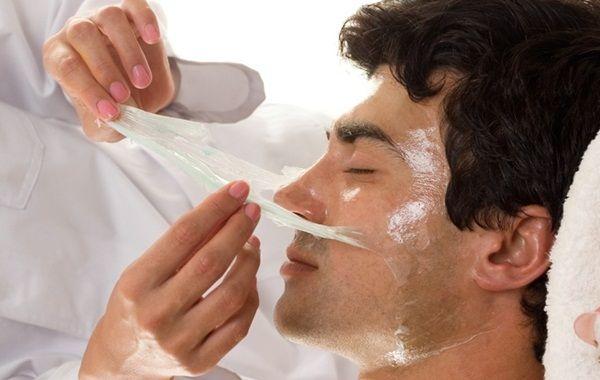 Máscaras faciais caseiras para homens